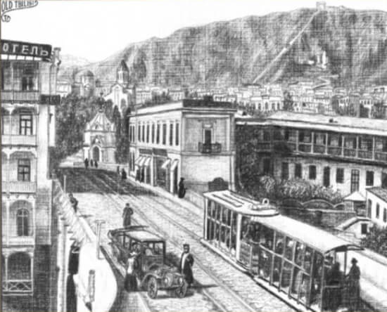 History of Tbilisi Hotels